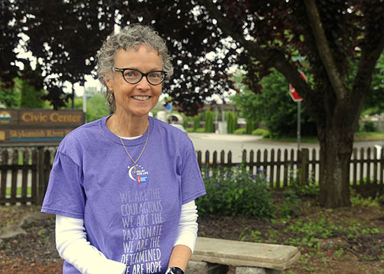 Carla Stewart won't stop running, with Relay For Life up